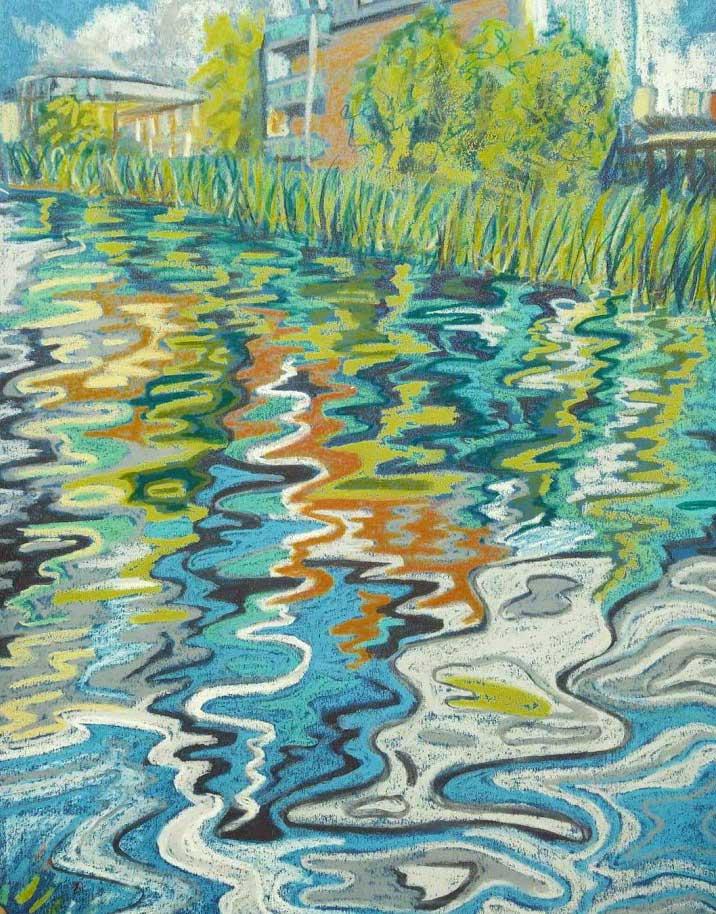 Custom art commission - Union Canal